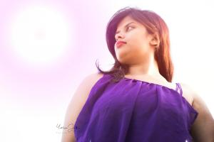 Renu Plus Size Bangalore Model